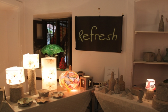 The Refresh Stall with all thing Paper Mache