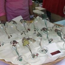 So Stylish Wine Glass Art