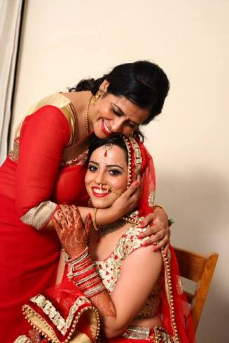 Mom with Sister