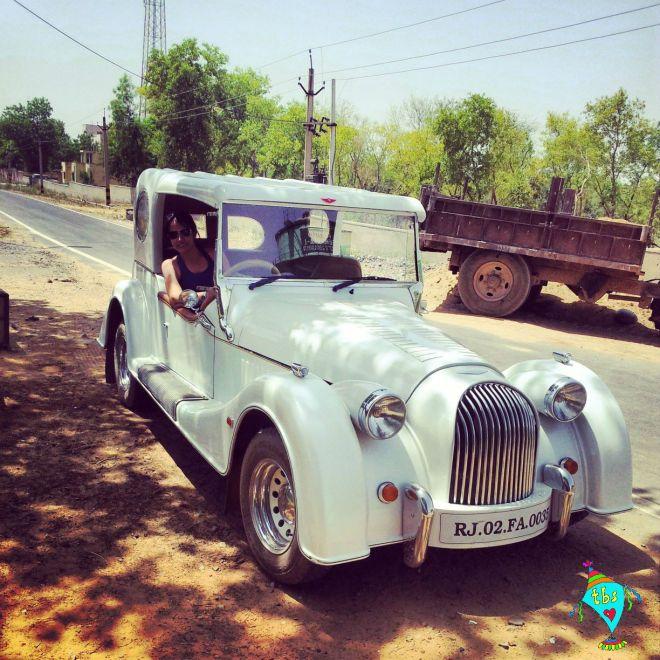 Neemrana Vintage Car