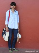 Chambray-ing for Travel http://thebangaloresnob.com/2014/05/13/chambray-ingfor-travel/
