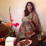 When in doubt - Saree! http://thebangaloresnob.com/2014/07/04/when-in-doubt-saree/