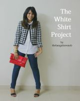 The White Shirt Project: Look 1 http://thebangaloresnob.com/2014/09/17/the-white-shirt-project-look-1/